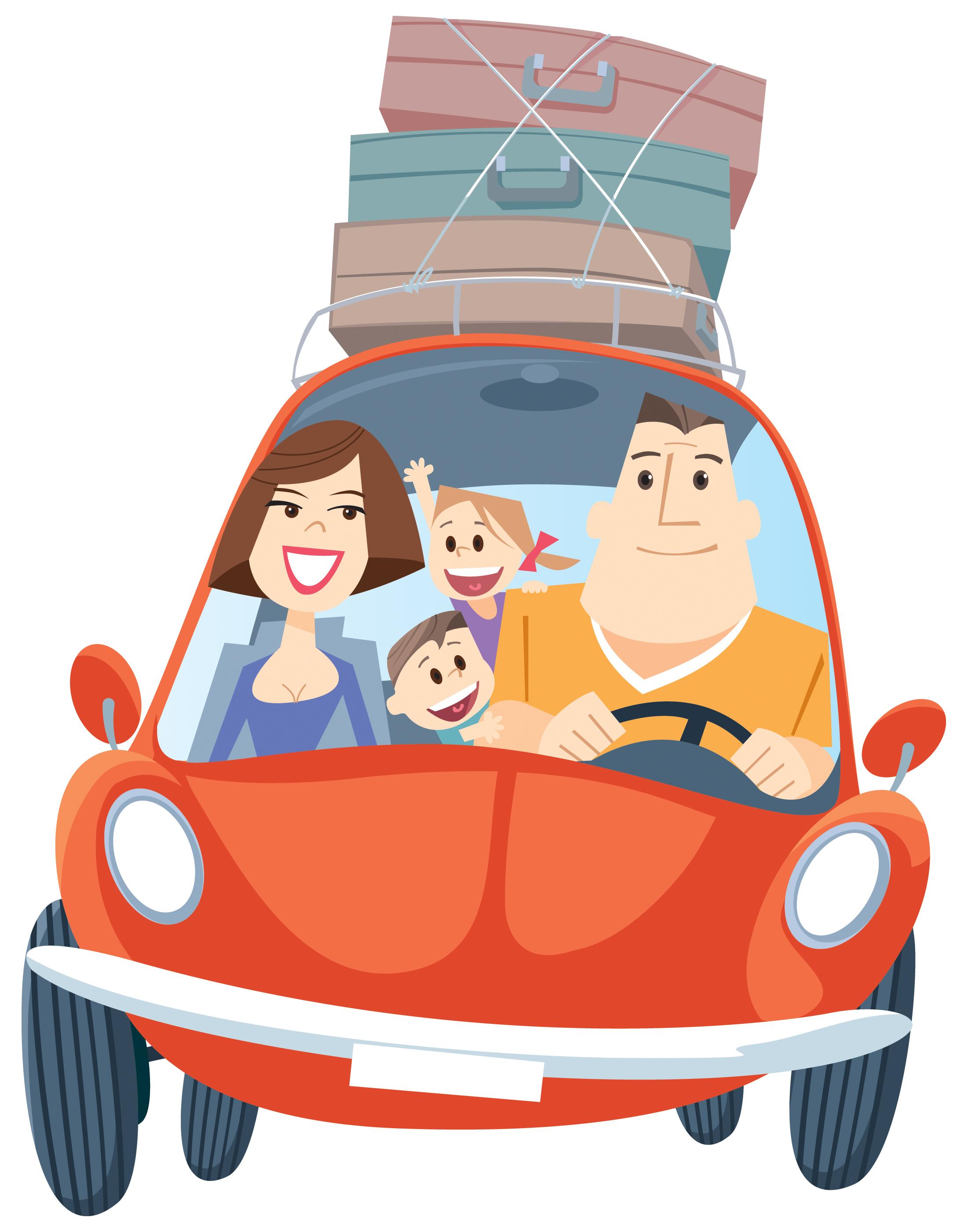 Картинка путешествия с детьми